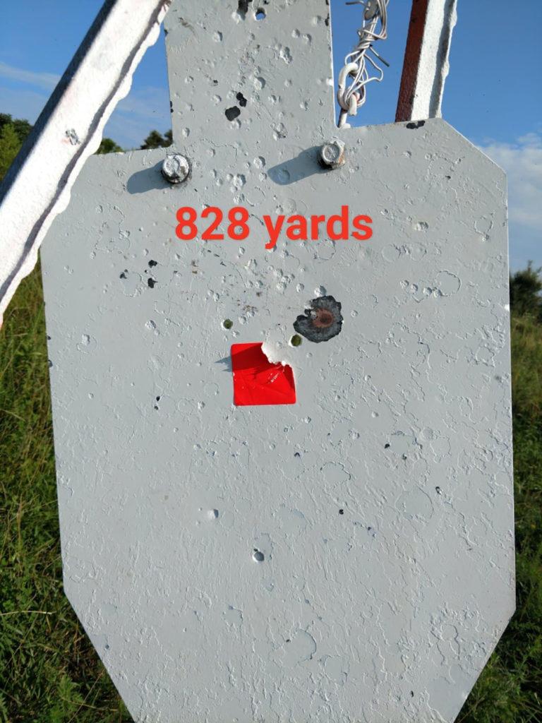 828 Yards